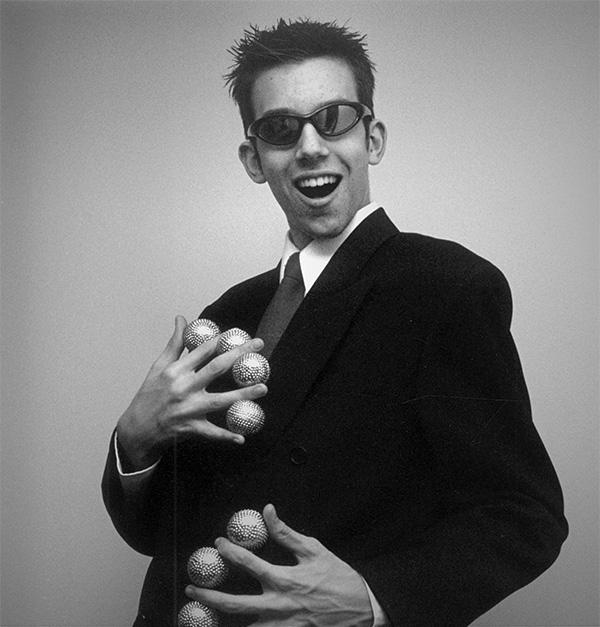 Daniel Coutu à l'âge de 19 ans