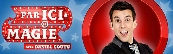 Daniel à la télé de Ici Radio-Canada